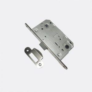Защелка сантехническая ROSSI 410B-1 PVC SN никель матовый